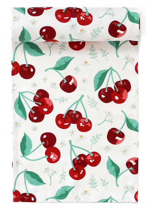 Summer Cherry Table Runner