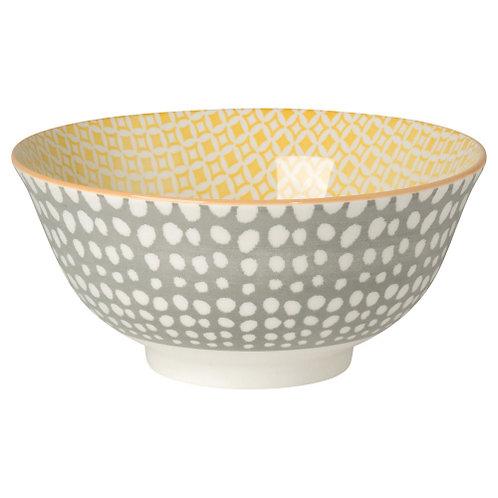 Grey Dot Bowl