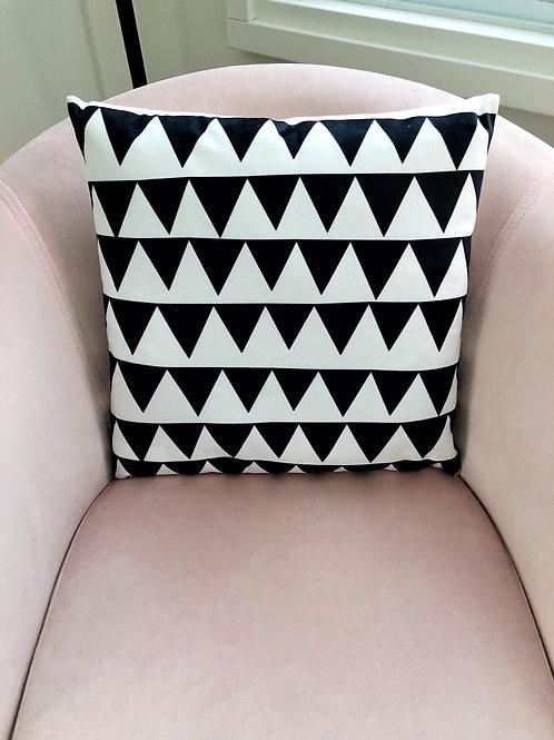 Black Triangle Pillow