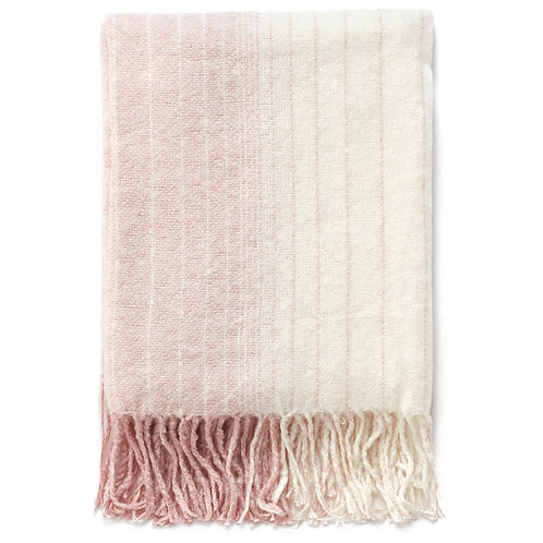 Pink Ombre Throw