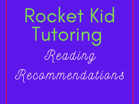 Reading Recommendations for Elementary Students