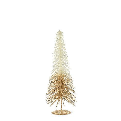 Small Ombre Bottle Brush Tree