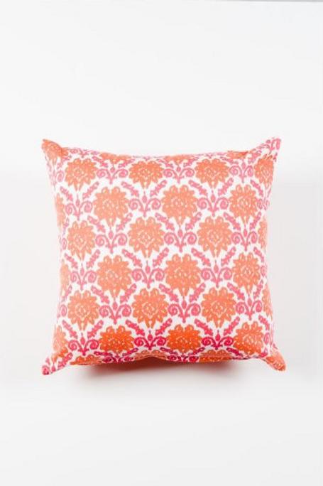 Coral & Pink Pillow