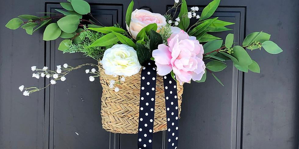 Spring Floral Hanging Basket