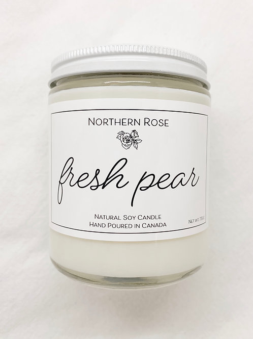 Northern Rose Co - 'Fresh Pear' Candle