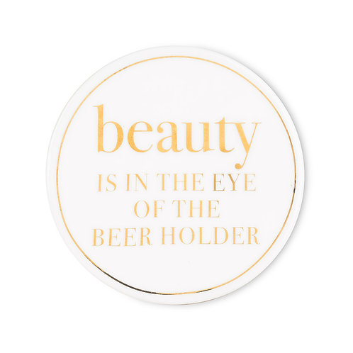 Cheeky Coasters- Beauty and the Beer