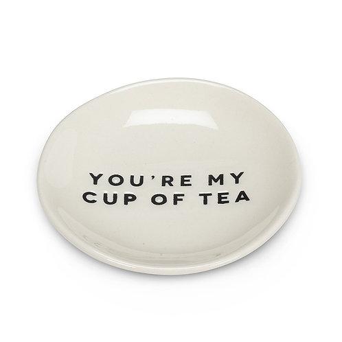 Tea Time Mini Plate- Cup of Tea