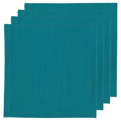 Peacock Napkins Set of 4