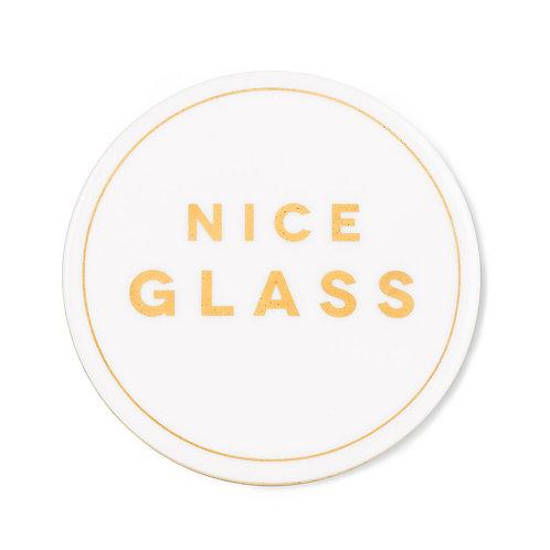Cheeky Coaters-Nice Glass