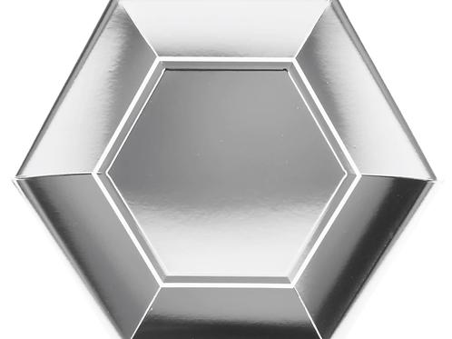 Diamond Paper Dinner Plate (set of 8)