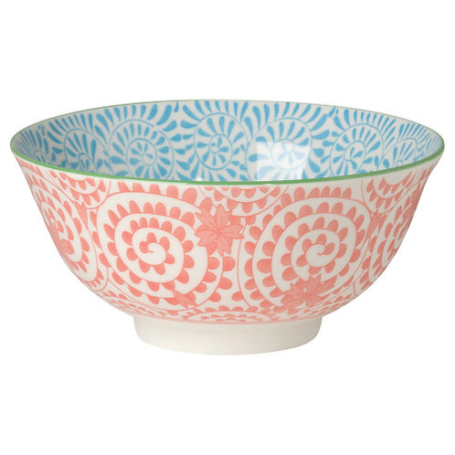 Orange Swirl Bowl
