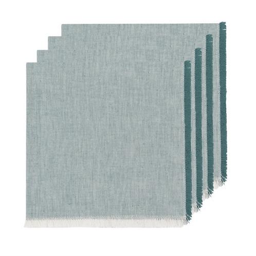 Cotton Fringe Napkins- Set of 4
