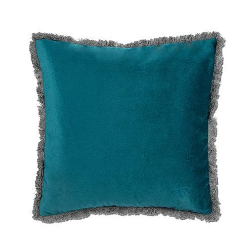 Teal Velvet Pillow
