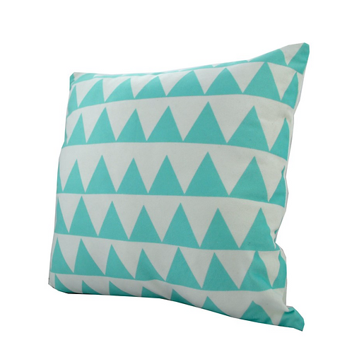 AquaTriangle Pillow