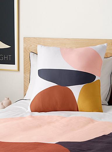 Bright Geometry Cushion