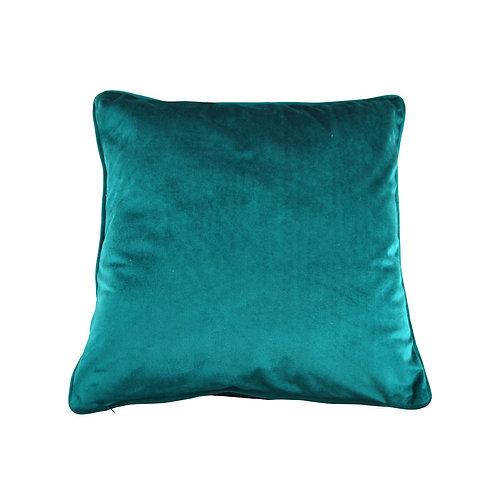 Velvet Cushion -Teal