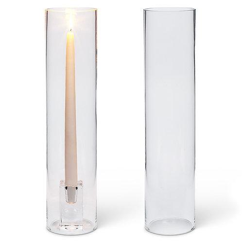 Glass Cylinder Taper Chimney