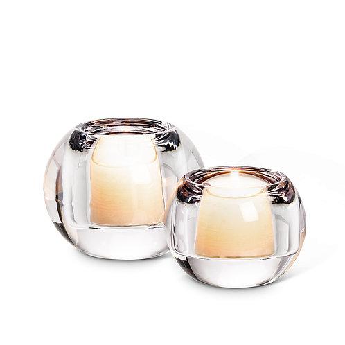 Glass Ball Tealight Holders
