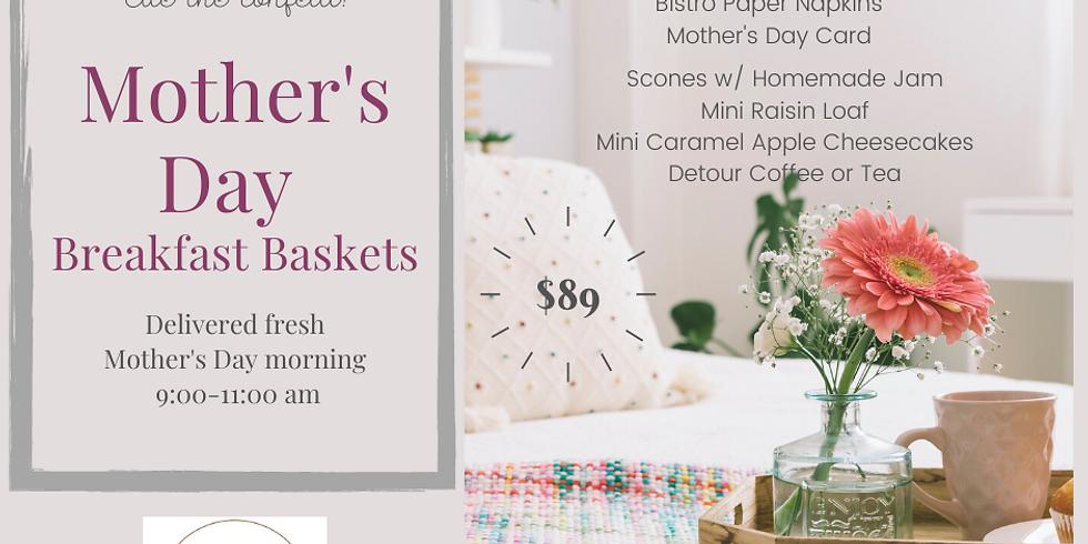 Mother's Day Breakfast Baskets
