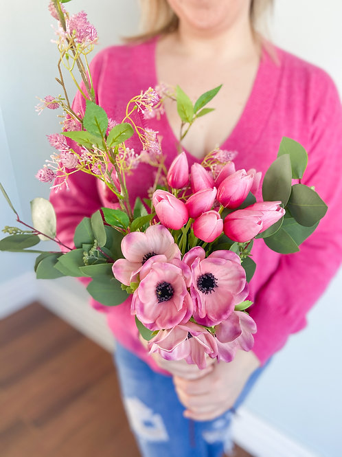 Real Touch Anemone Bouquet
