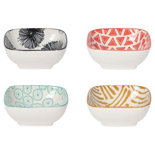 Square Pinch Bowl Set