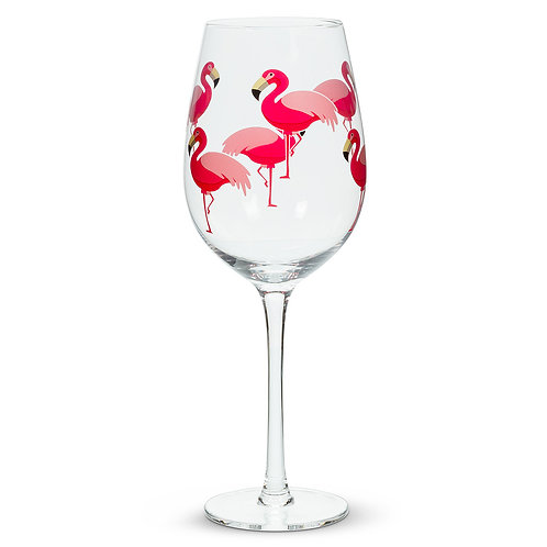 Flamingo Wine Goblet