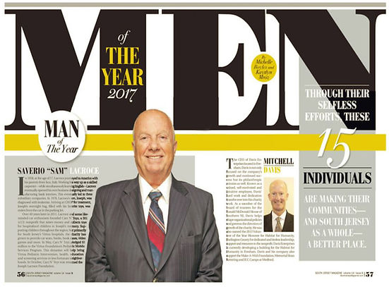 Men of The Year South Jersey Magazine