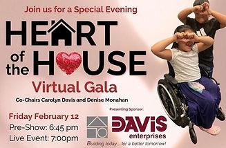 Heart of the House Virtual Gala