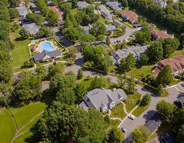 Sagemore Apartments Aerial Shot