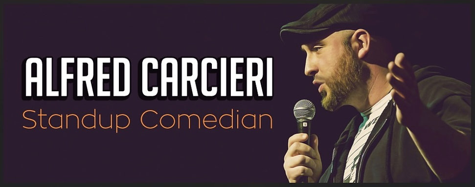 Comedian Alfred Carcieri