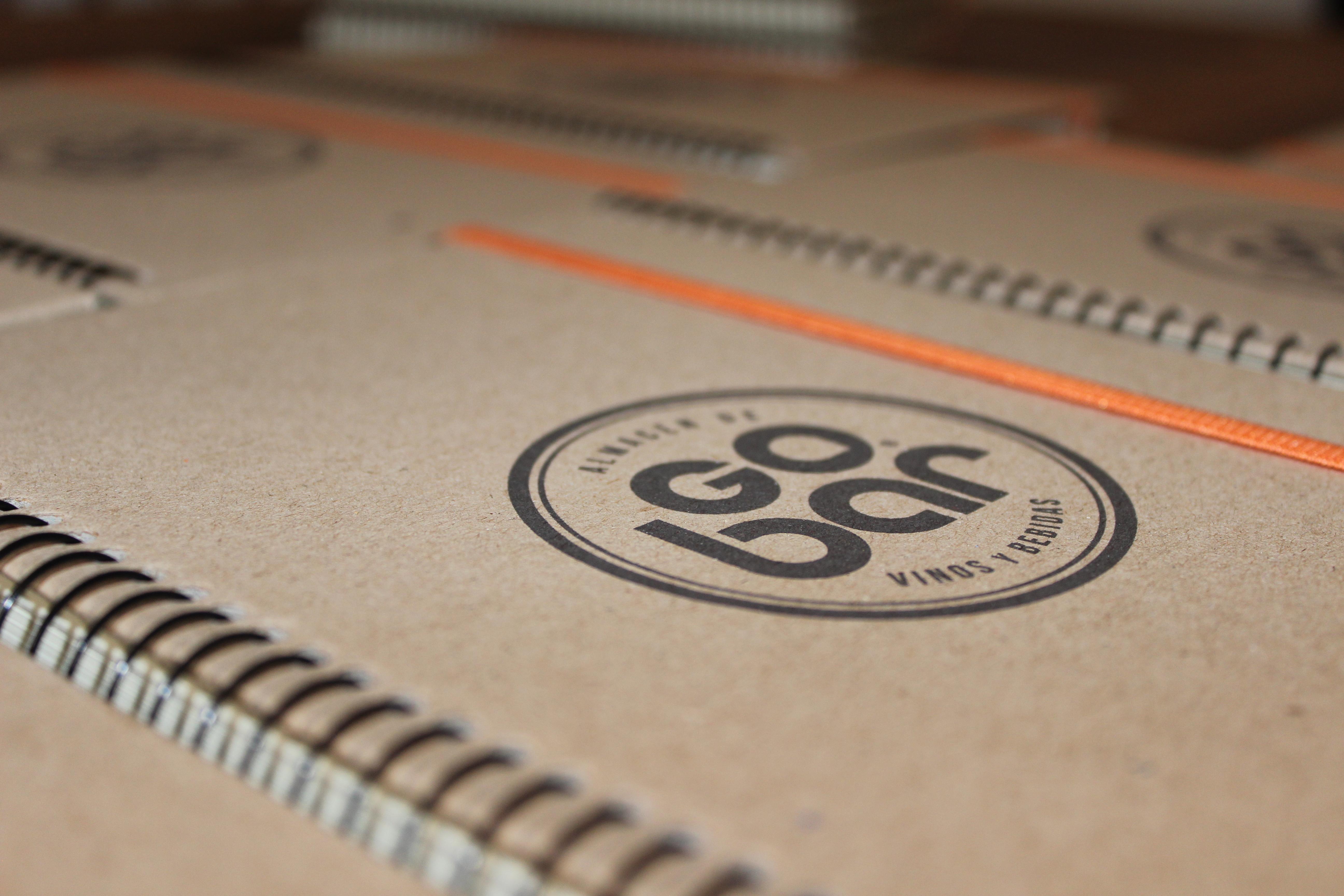 GoBar. Cuadernos espiralados