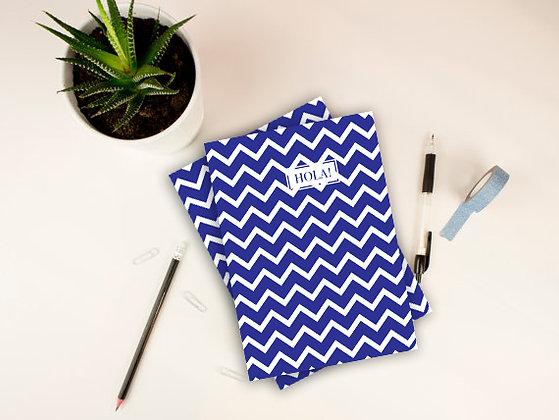 Cuaderno M Bleu