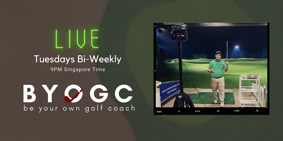 BYOGC - Be Your Own Golf Coach