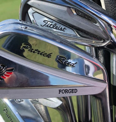 Company that makes Patrick Reed's mystery irons officially revealed