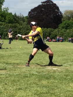 Dickie batting