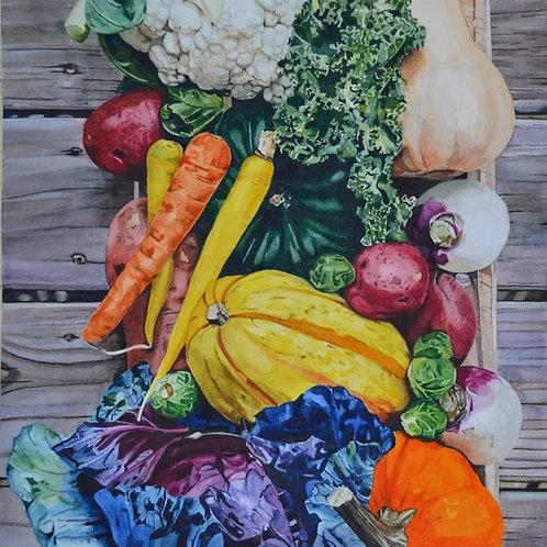 """Harvest"" Giclee Print"