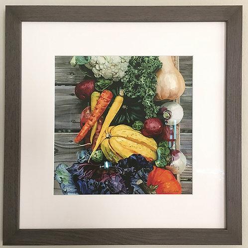 """""""Harvest"""" Framed Giclee Print #7"""