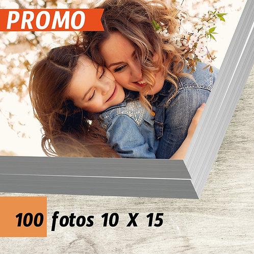 Pack 100 fotos 10 X 15