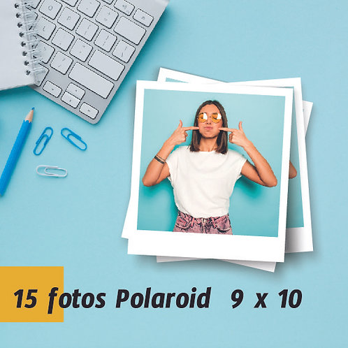 Pack 15 Fotos tipo Polaroid 9x10