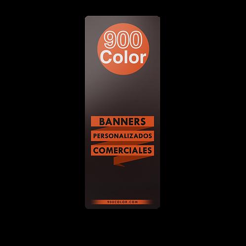BANNER 1,90 X 0,90 MTS Calidad Económica