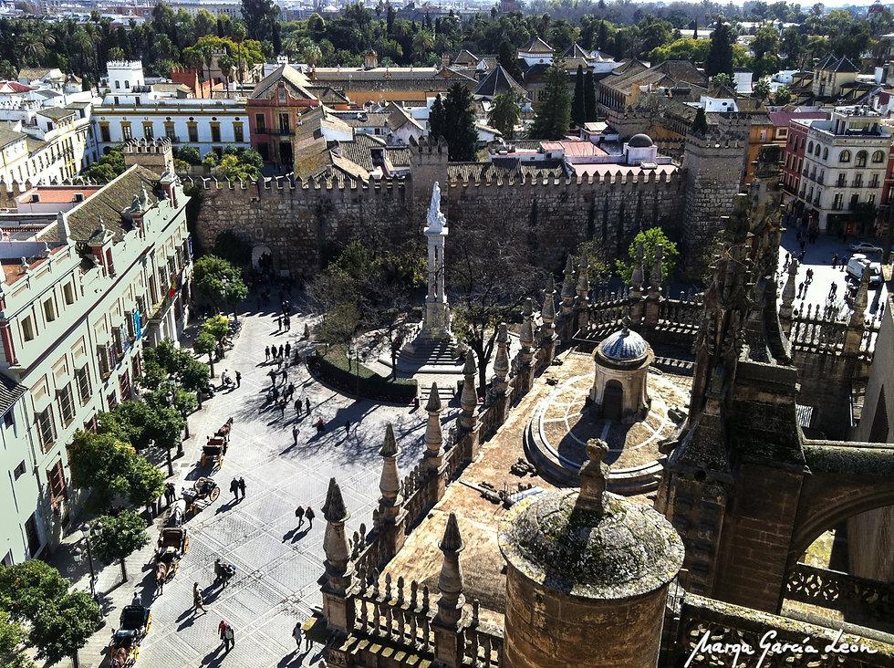 Plaza de la Inmaculada, Sevilla, Spain