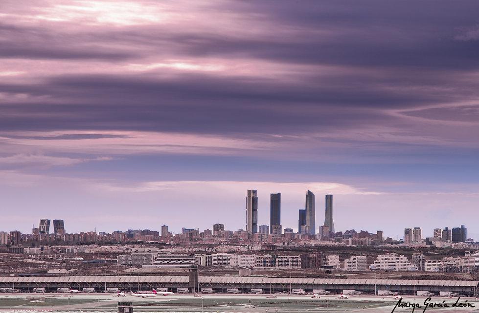 Mirador de Paracuellos, las cuatro torres, Madrid