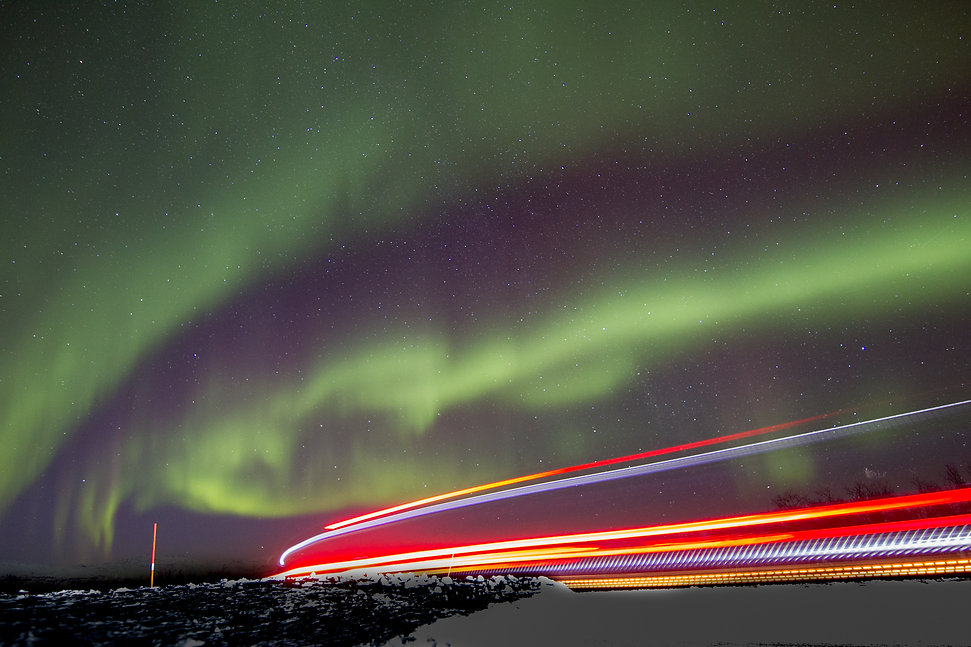 Aurora boreal, nothern light