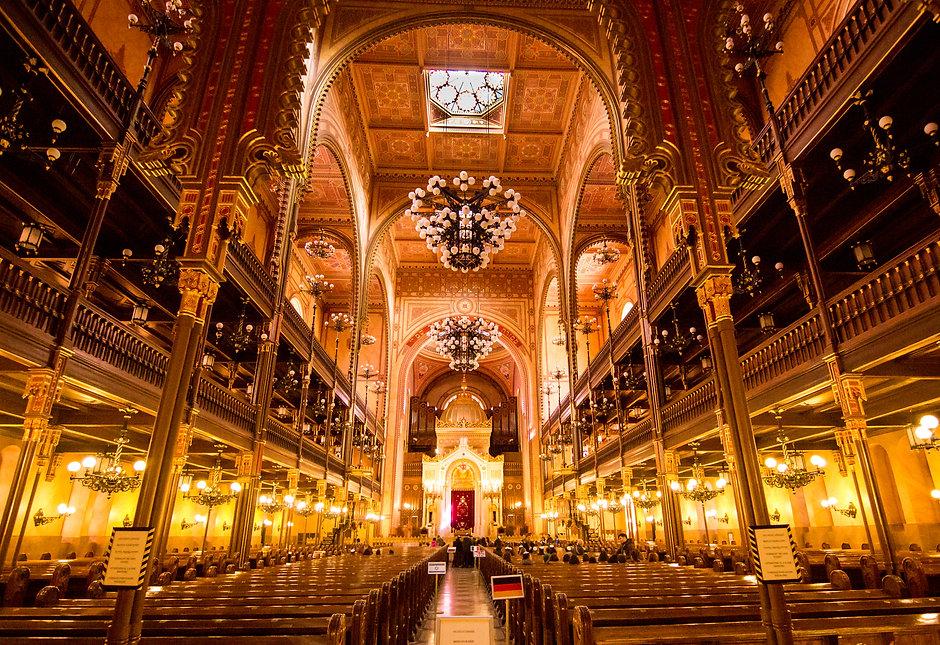 Sinagoga judia de Budapest