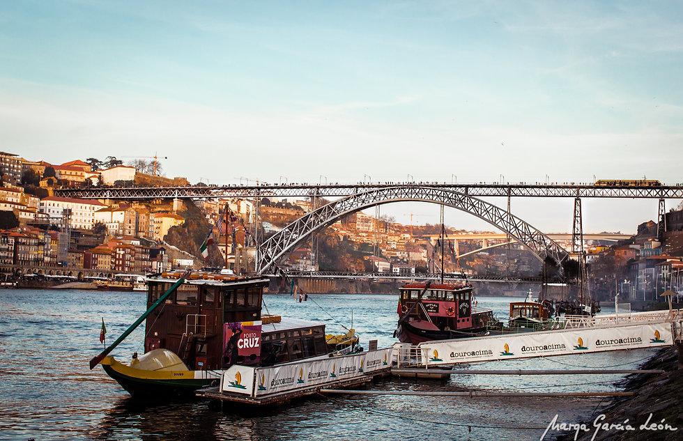 Oporto, río Duero, Portugal