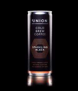 Union sparkling cold brew coffee