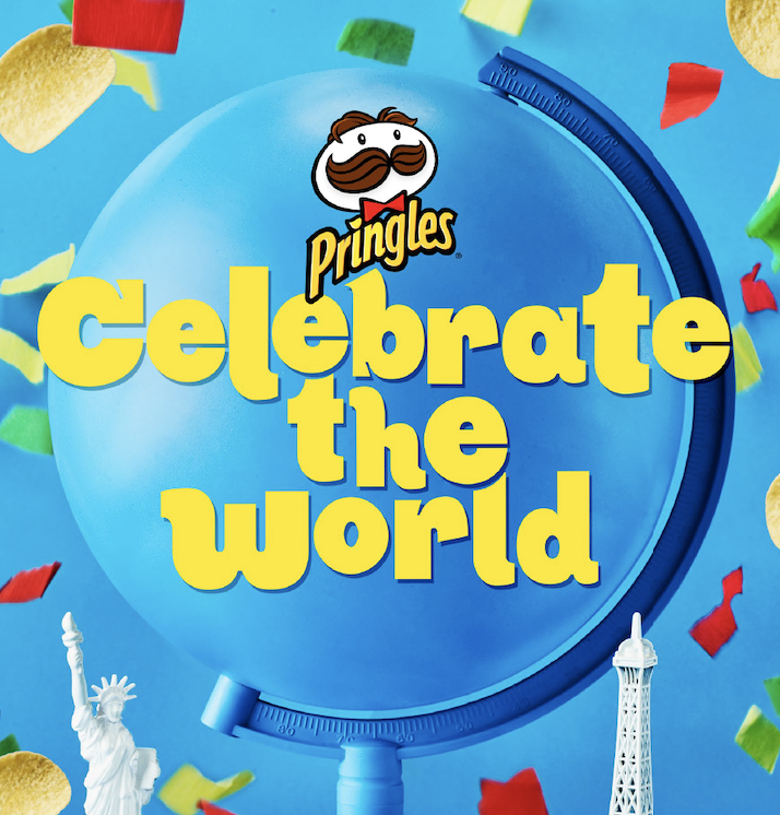 Pringles celebrate the world