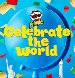 Pringles celebrate the world