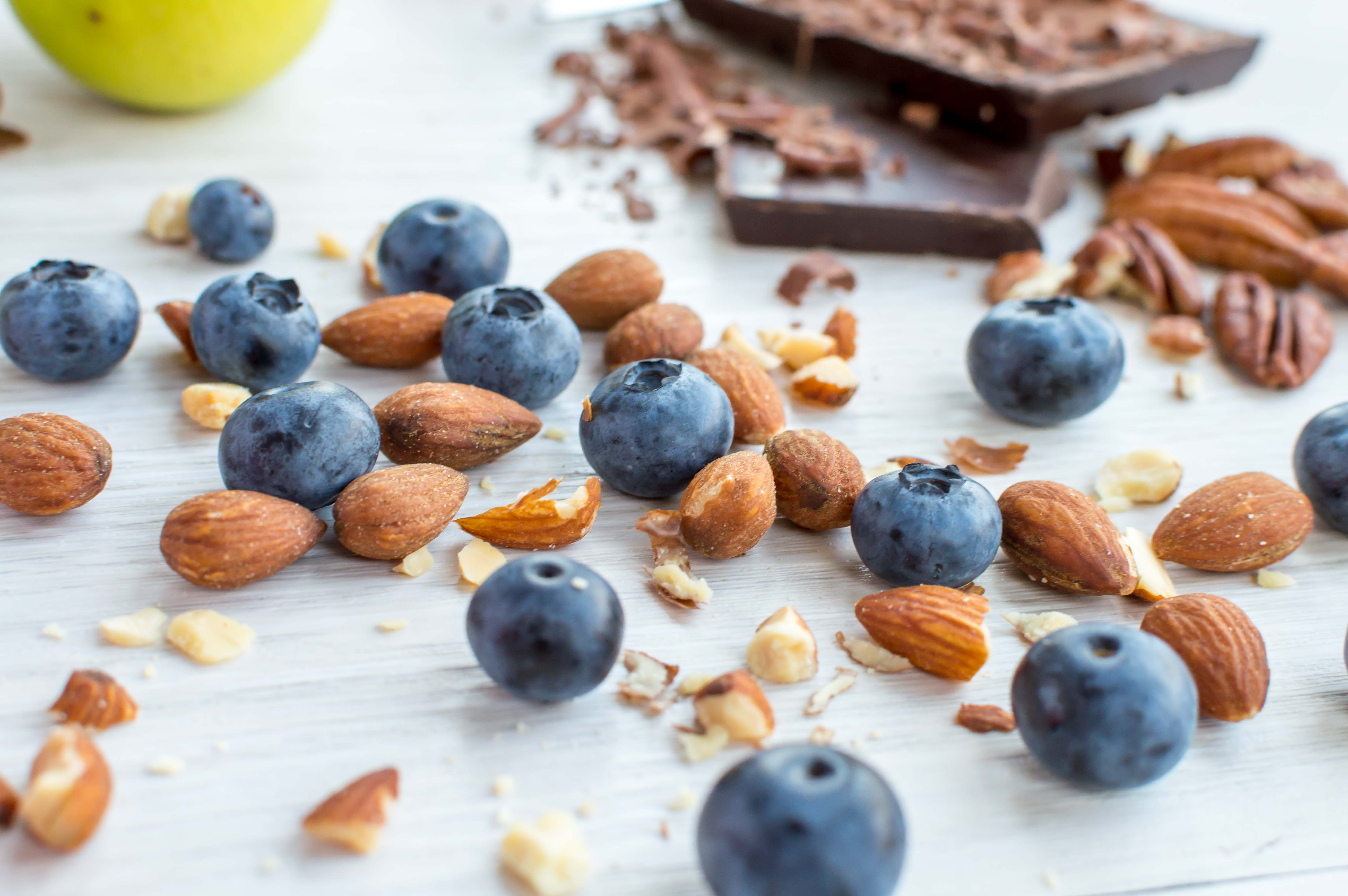 Blueberries & Almonds