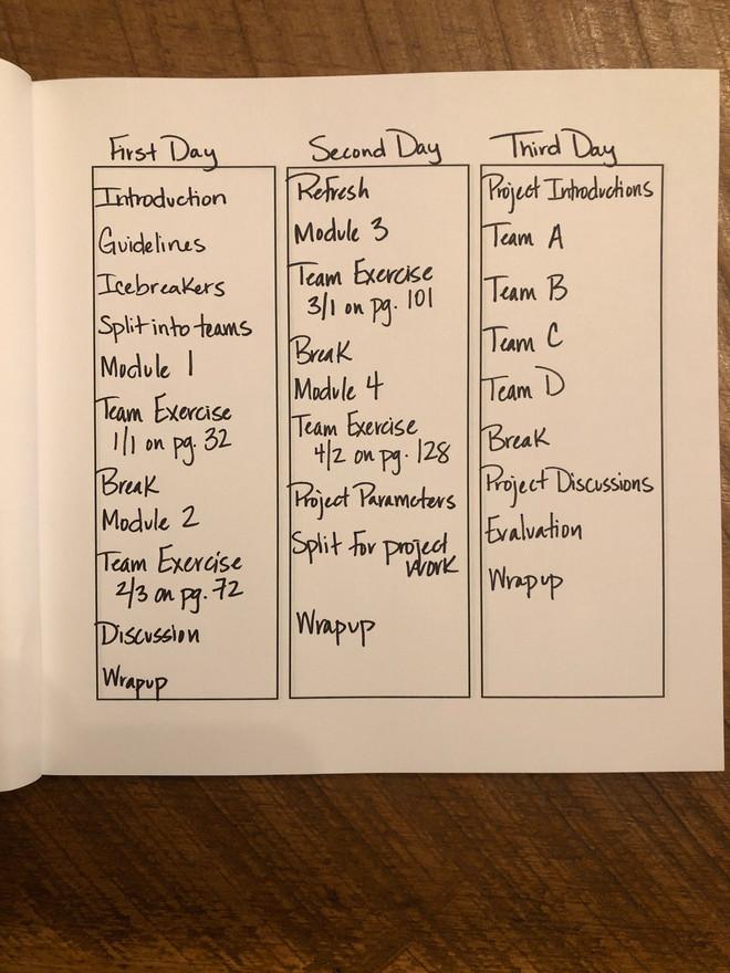 Columns Workbook